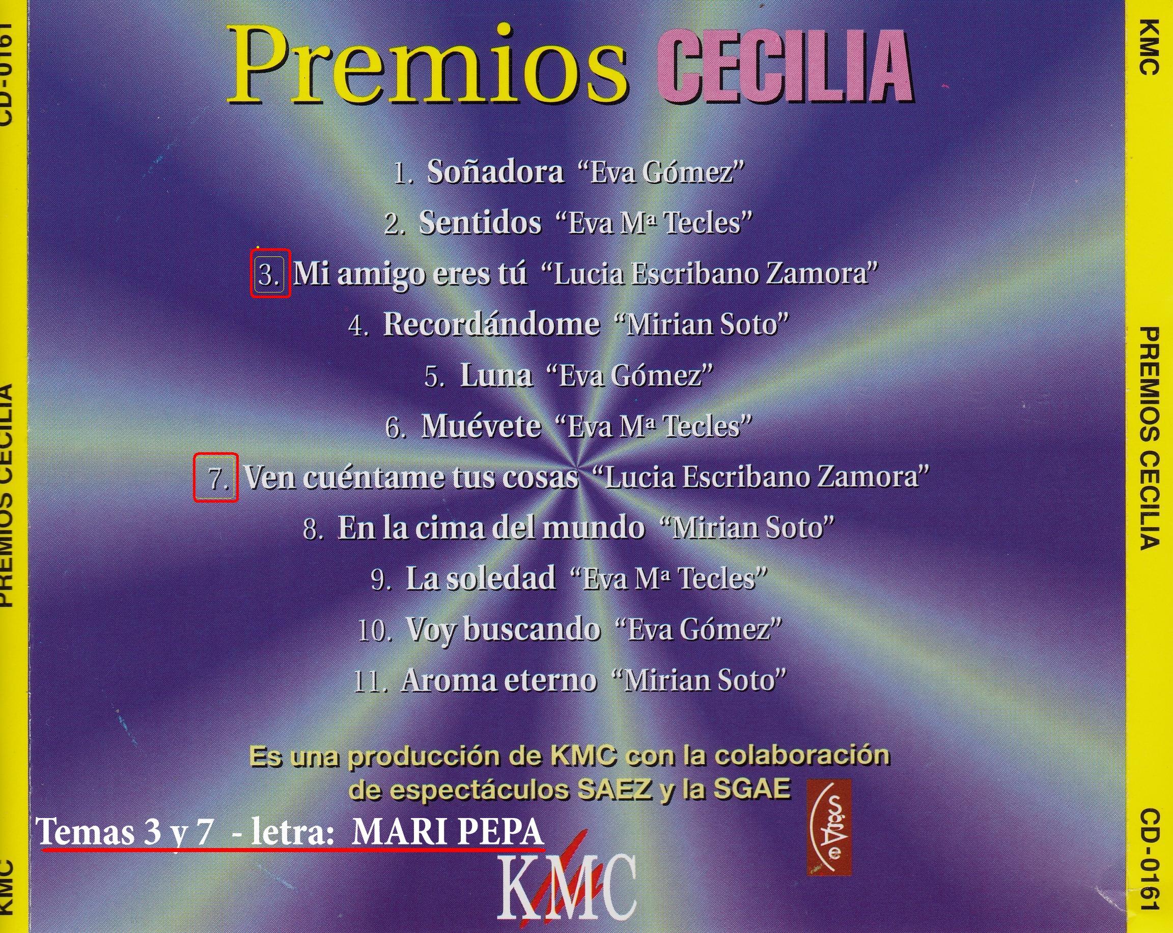Premios Cecilia